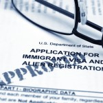 image of approved immigrant visa application
