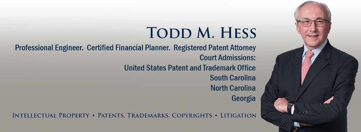 header image of Barnwell Whaley patent attorney Todd Hess for bio page