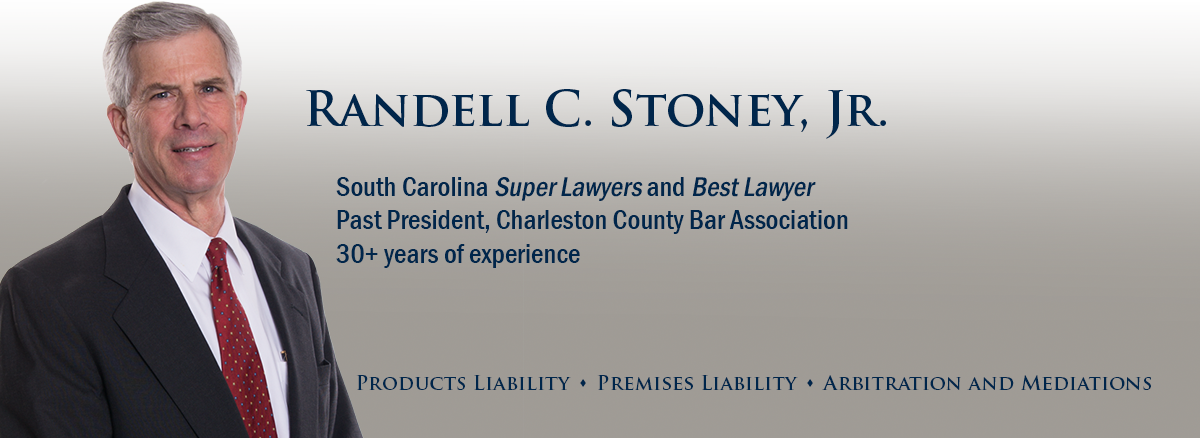 header image of Barnwell Whaley member attorney Randell C Stoney Jr for bio page