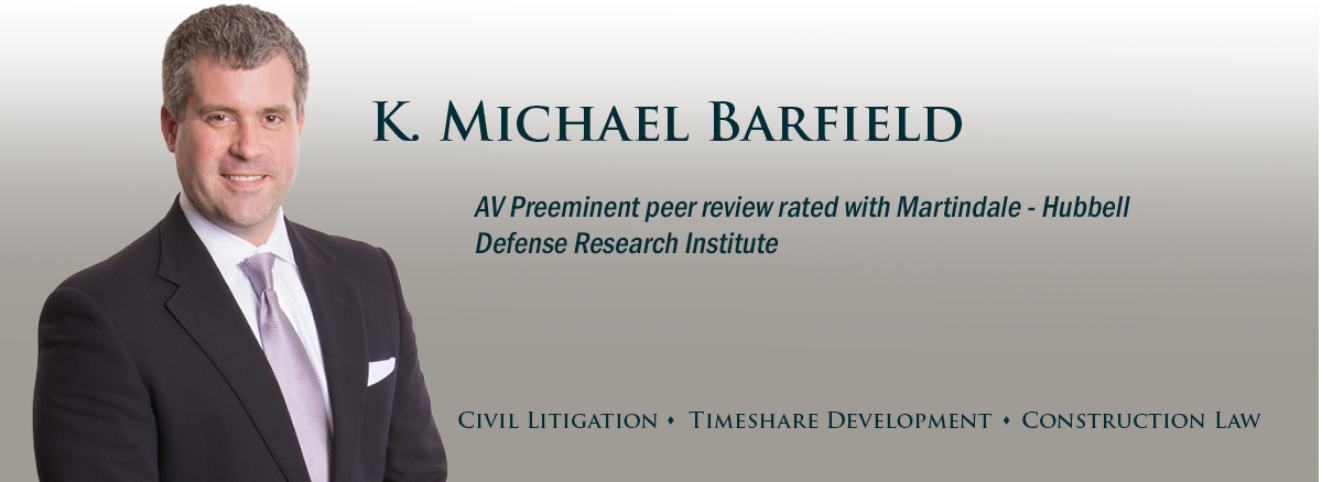 banner image for attorney Michael Barfield