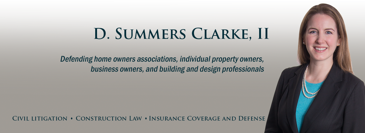 header image for attorney Summers Clarke
