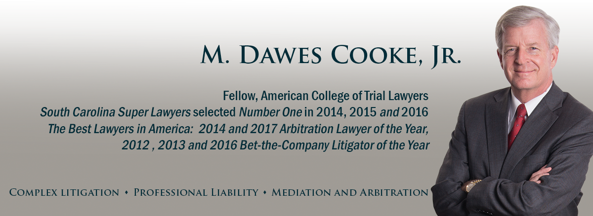 header image for South Carolina attorney Dawes Cooke