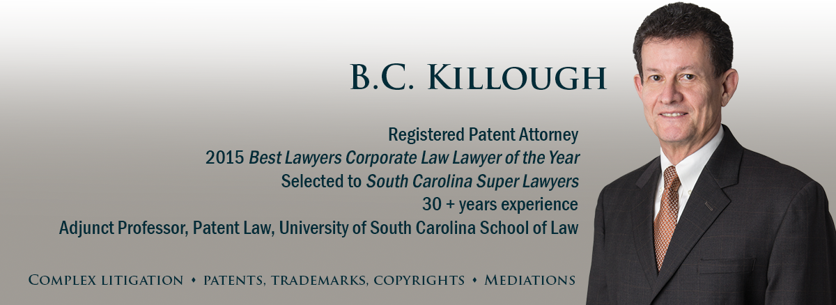 banner image for attorney B.C. Killough,