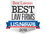 small Best Law Firms of America 2018 logo