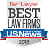 Barnwell Whaley 2018 Best Law Firm Award Badge