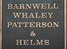 Barnwell Whaley law offices historical sign thumbnail image