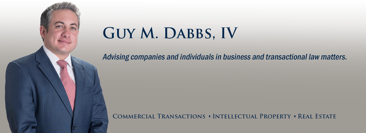 header image of Barnwell Whaley attorney Guy Dabbs for bio page