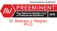 logo for Dr. Barbara Wagner, AV rated with Martindale Hubbell