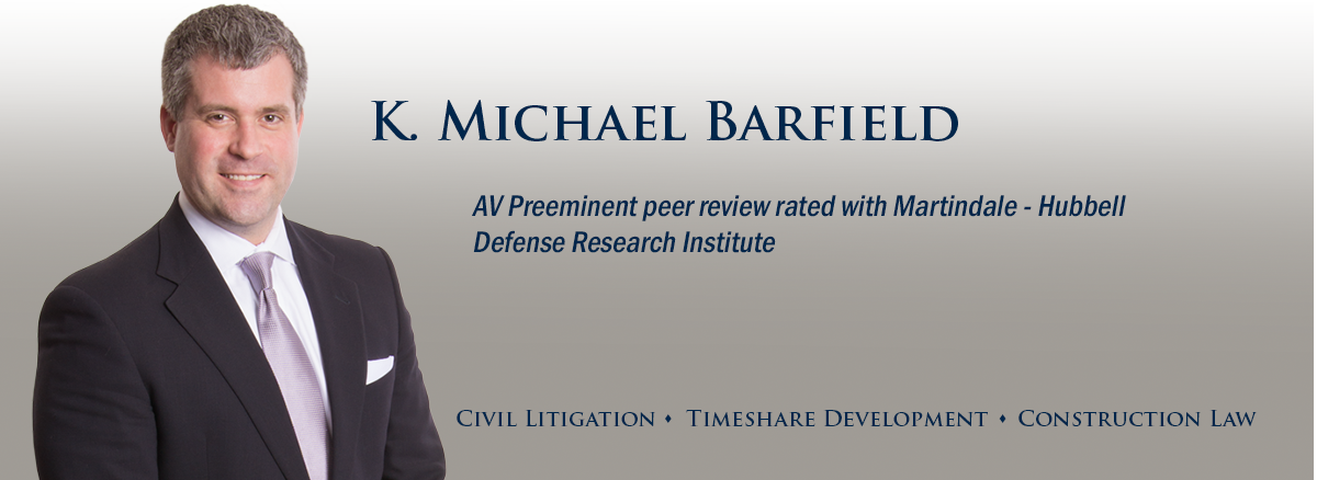 header image of Barnwell Whaley attorney Michael Barfield for bio page