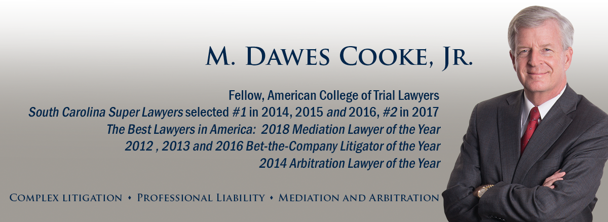 header image of Barnwell Whaley attorney Dawes Cooke, Jr for bio page