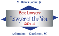 Dawes Cooke, 2014 Best Lawyers Lawyer of the Year logo